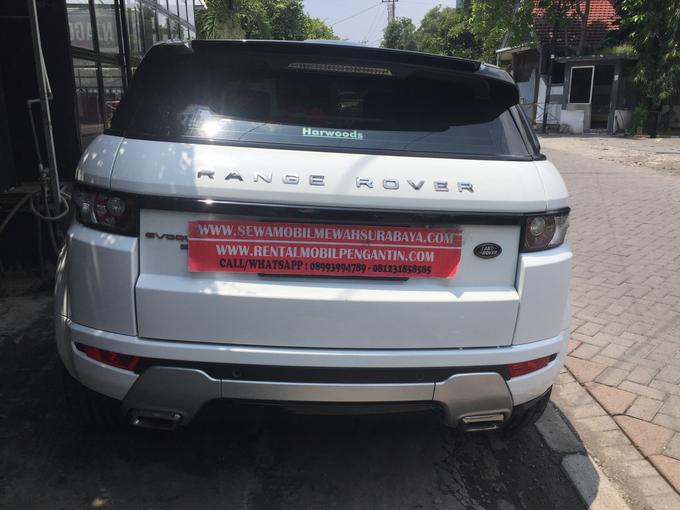 Sewa Range Rover Evoque Putih Surabaya by Rentalmobilpengantin.com - 002