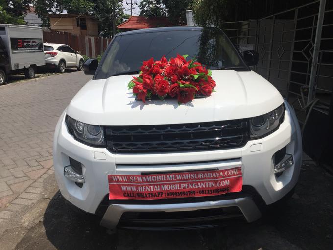 Sewa Range Rover Evoque Putih Surabaya by Rentalmobilpengantin.com - 003