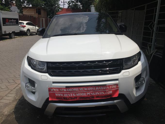 Sewa Range Rover Evoque Putih Surabaya by Rentalmobilpengantin.com - 006