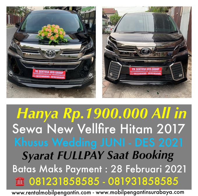 Promo Sewa Alphard Surabaya untuk Mobil Pengantin  by BLAZE EVENT ORGANIZER - 009