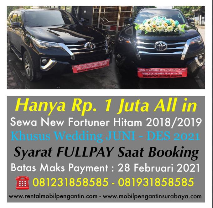 Promo Sewa Alphard Surabaya untuk Mobil Pengantin  by BLAZE EVENT ORGANIZER - 010