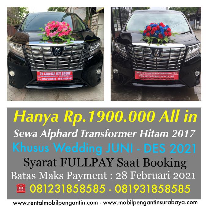 Promo Sewa Alphard Surabaya untuk Mobil Pengantin  by Rentalmobilpengantin.com - 011