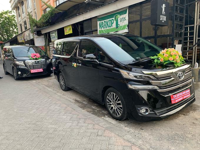 Promo Sewa Alphard Surabaya untuk Mobil Pengantin  by BLAZE EVENT ORGANIZER - 022