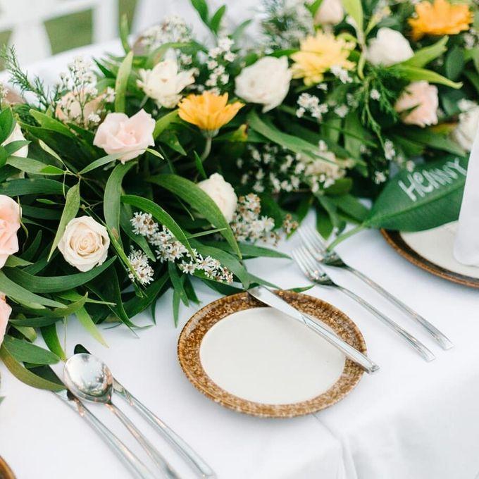Cherrish & Cyril Wedding Dinner by Bali Becik Wedding - 006