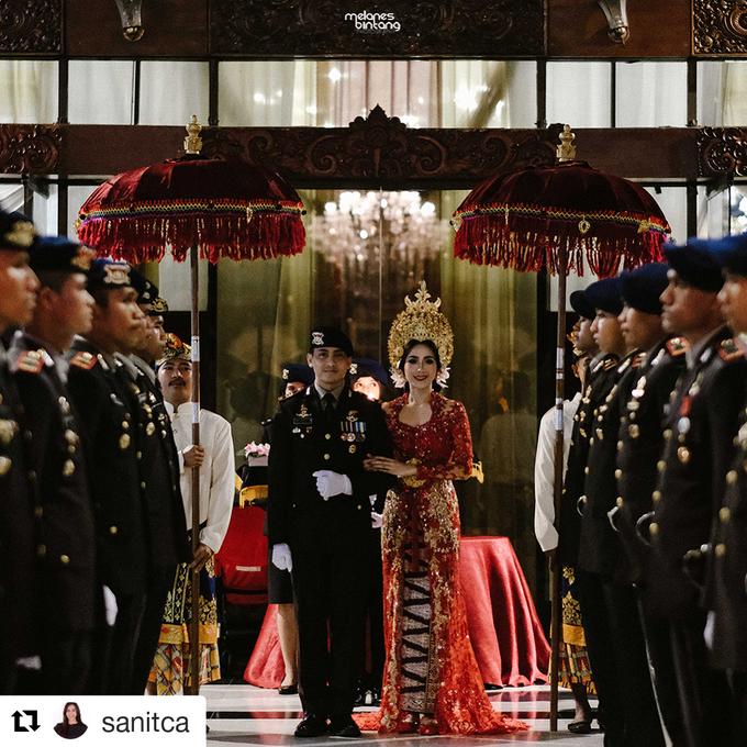 THE WEDDING OF WIRATAMA & SANITCA by PUSPA CATERING - 015