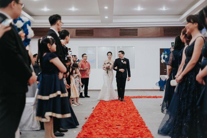 Receptions of Hendry & Kartika by Kayika Wedding Organizer - 005