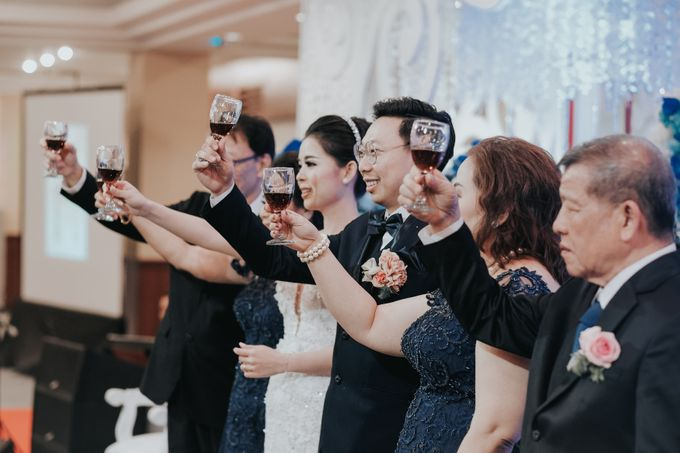 Receptions of Hendry & Kartika by Kayika Wedding Organizer - 011