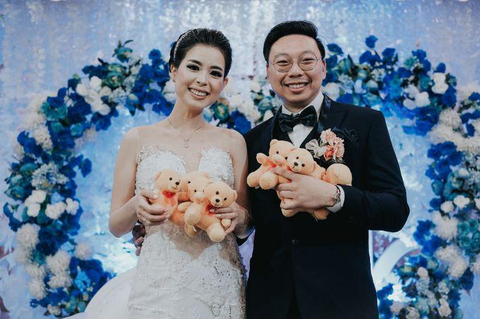 Receptions of Hendry & Kartika by Kayika Wedding Organizer - 013