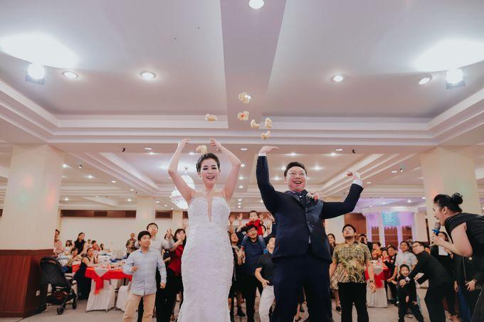 Receptions of Hendry & Kartika by Kayika Wedding Organizer - 014