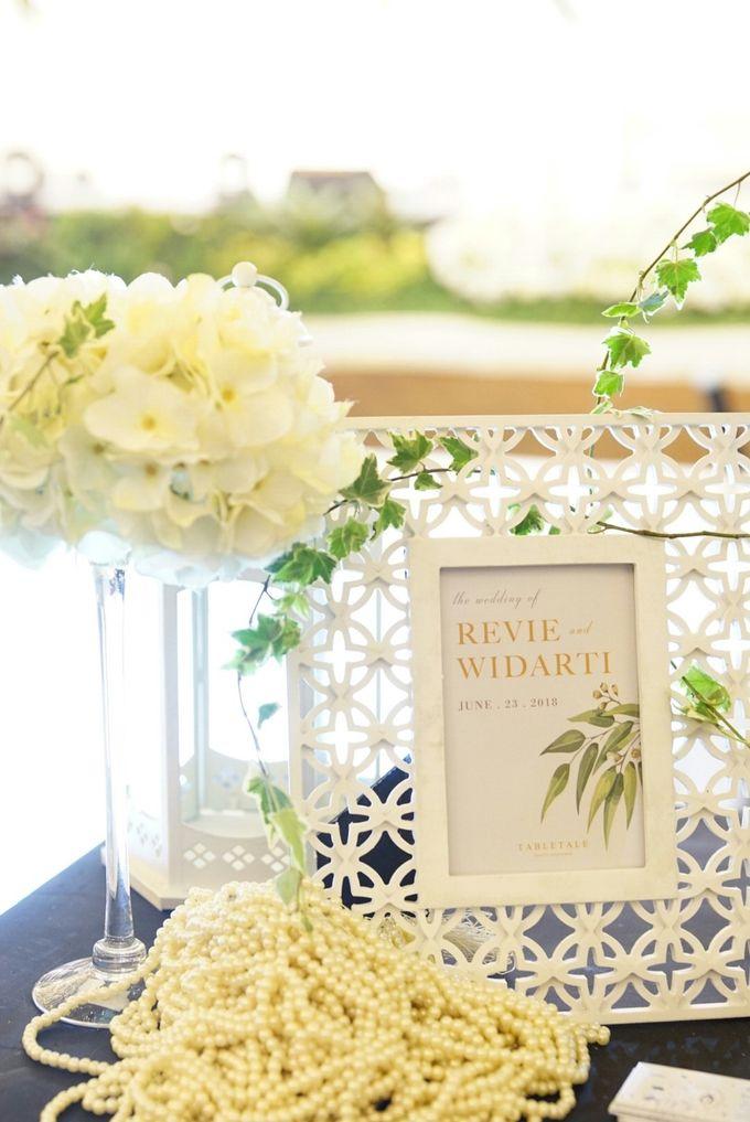 Wedding of Revie & Widarti - Jardin Sweet Corner by Questo La Casa Pastry - 001