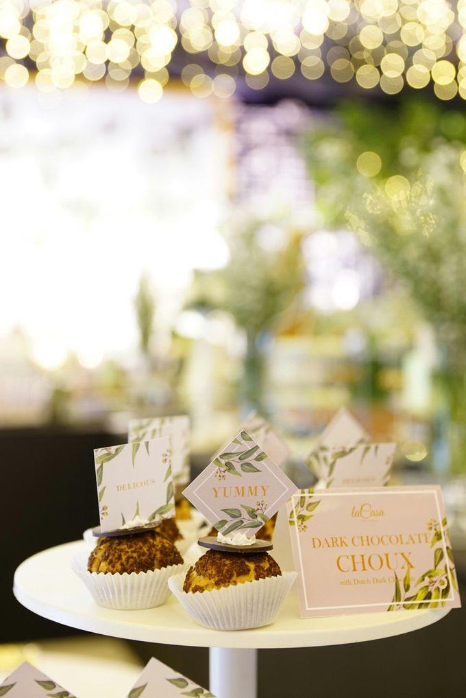 Wedding of Revie & Widarti - Jardin Sweet Corner by Questo La Casa Pastry - 003