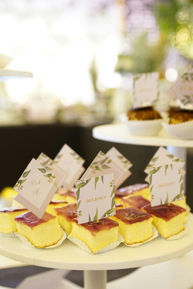 Wedding of Revie & Widarti - Jardin Sweet Corner by Questo La Casa Pastry - 004
