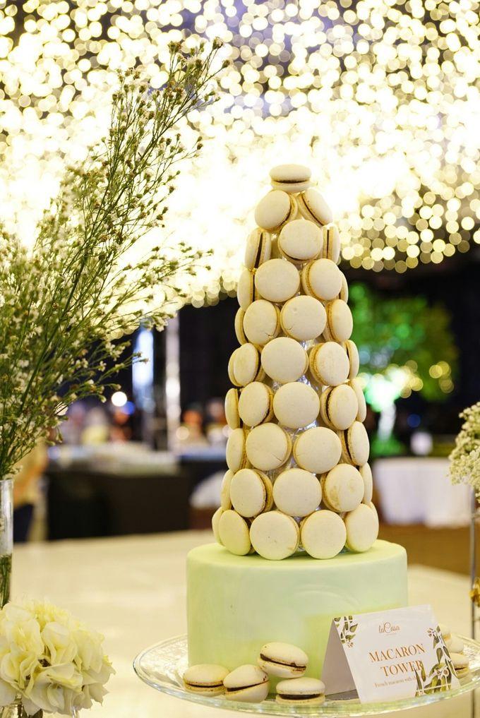 Wedding of Revie & Widarti - Jardin Sweet Corner by Questo La Casa Pastry - 006