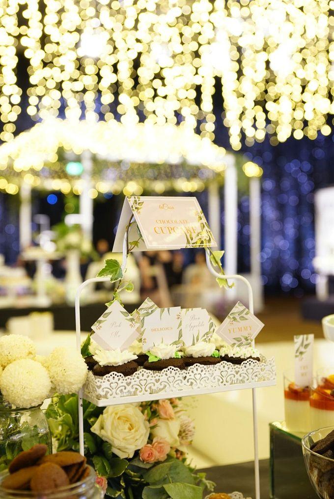 Wedding of Revie & Widarti - Jardin Sweet Corner by Questo La Casa Pastry - 009