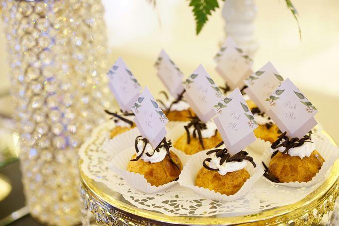 Wedding of Revie & Widarti - Jardin Sweet Corner by Questo La Casa Pastry - 011
