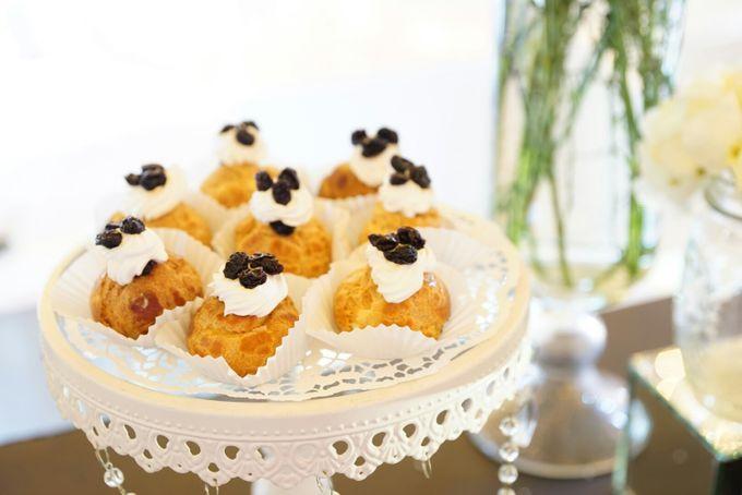 Wedding of Revie & Widarti - Jardin Sweet Corner by Questo La Casa Pastry - 012