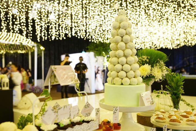 Wedding of Revie & Widarti - Jardin Sweet Corner by Questo La Casa Pastry - 016