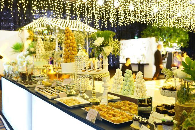 Wedding of Revie & Widarti - Jardin Sweet Corner by Questo La Casa Pastry - 018