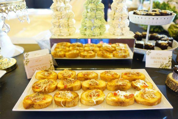 Wedding of Revie & Widarti - Jardin Sweet Corner by Questo La Casa Pastry - 022