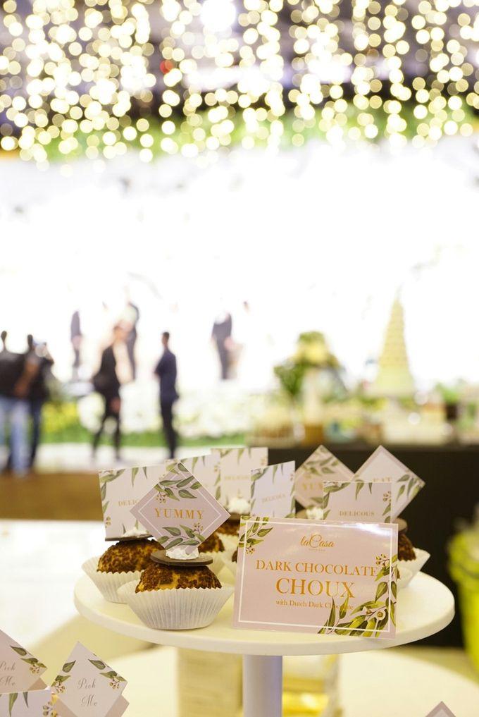 Wedding of Revie & Widarti - Jardin Sweet Corner by Questo La Casa Pastry - 031