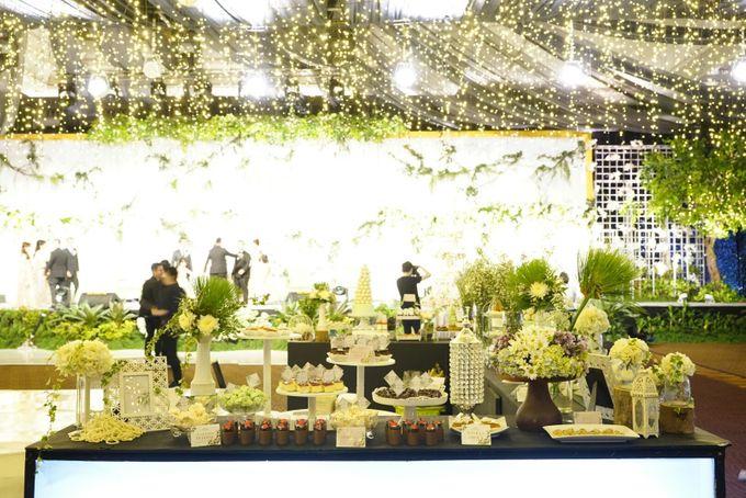 Wedding of Revie & Widarti - Jardin Sweet Corner by Questo La Casa Pastry - 034