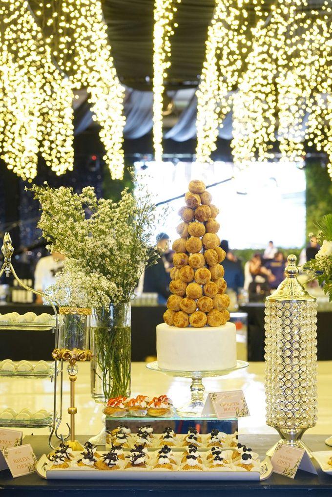 Wedding of Revie & Widarti - Jardin Sweet Corner by Questo La Casa Pastry - 035