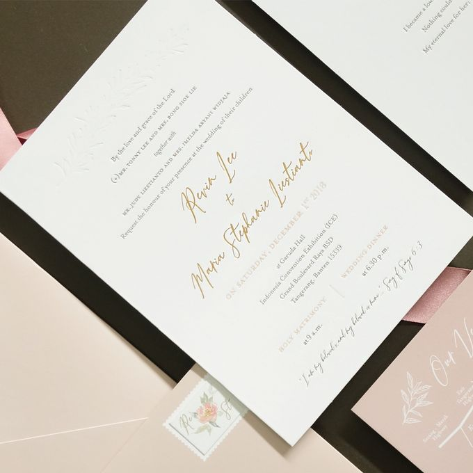 Revin & Stephanie by Meltiq Invitation - 005