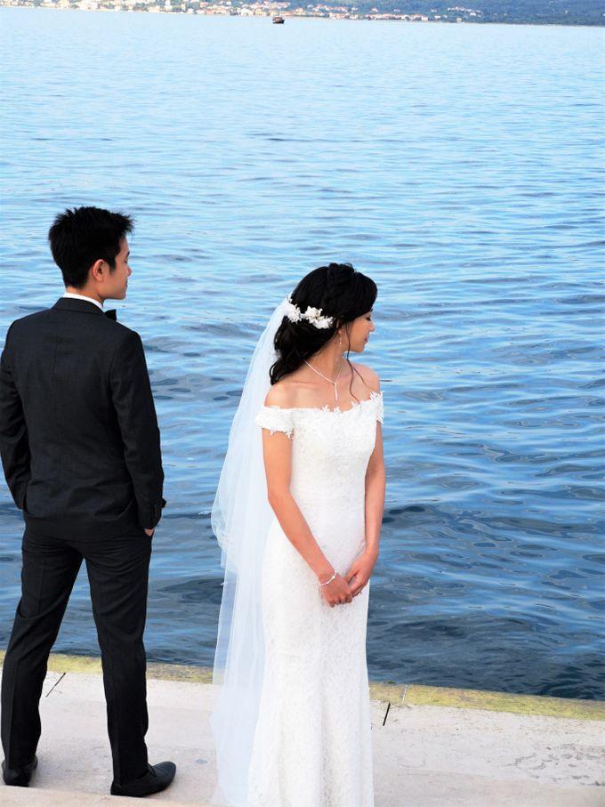 Overseas (Croatia) Pre-wedding Bridal Makeover by Makeupwifstyle - 001