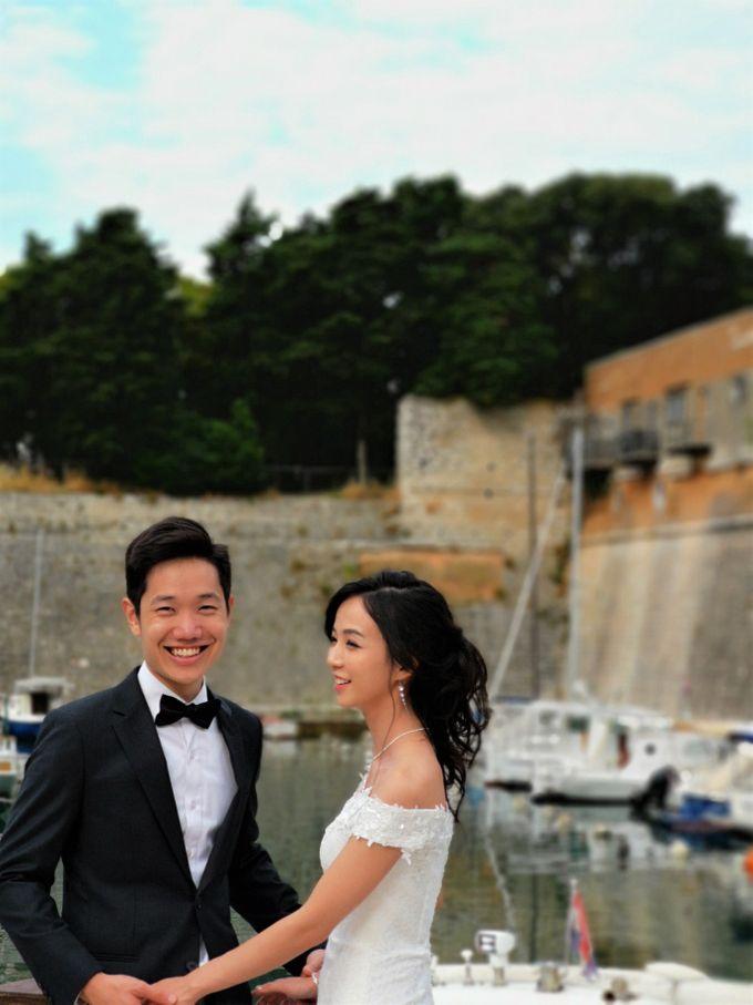 Overseas (Croatia) Pre-wedding Bridal Makeover by Makeupwifstyle - 003