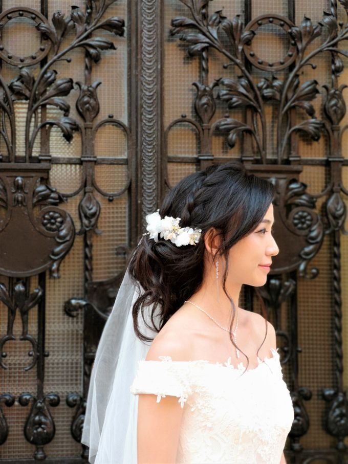 Overseas (Croatia) Pre-wedding Bridal Makeover by Makeupwifstyle - 002