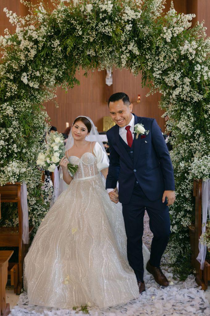 Wedding : Reynold & Bita by CARA wedding - 019