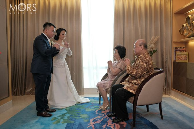 The Wedding of Amanda & Adrian by Raffles Jakarta - 007