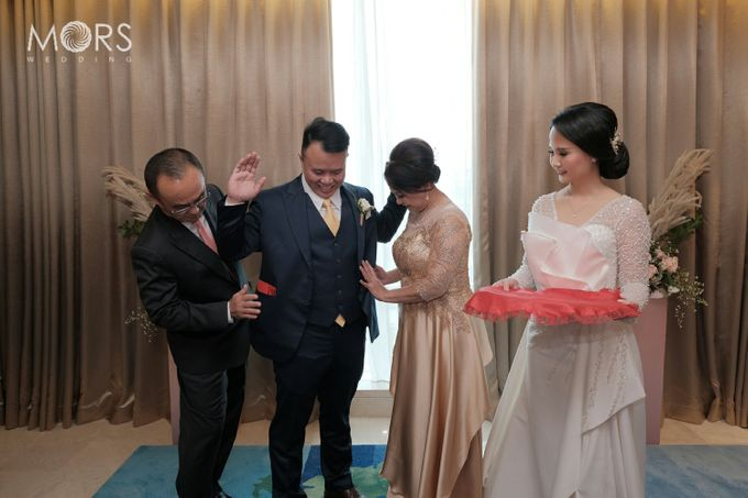 The Wedding of Amanda & Adrian by Raffles Jakarta - 009