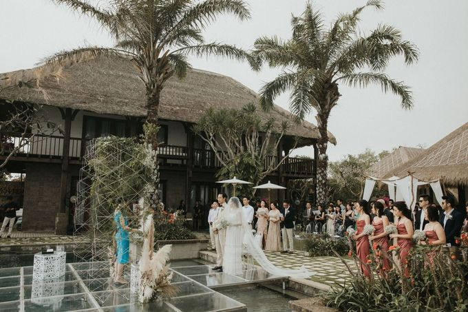 Chris & Calista Real Wedding at The Stone House by Tirtha by Tirtha Bridal - 018