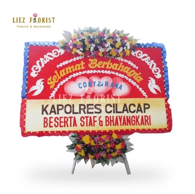 Steek Werk Bunga Papan by Liez Florist & Decoration - 002