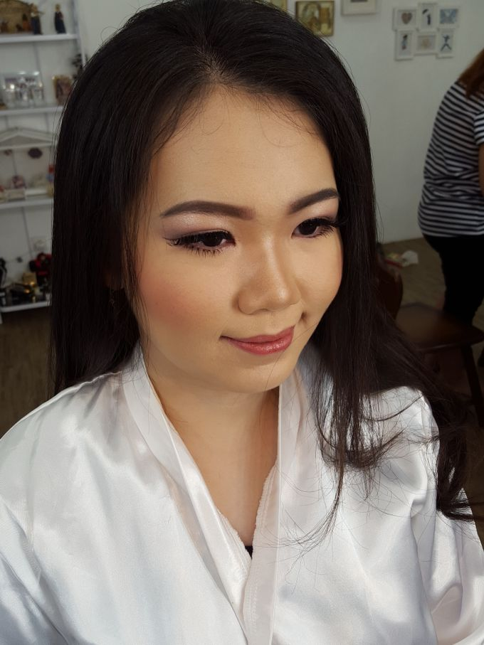 Wedding Makeup Trial For Ms. Yuli by Chesara Makeup - 007