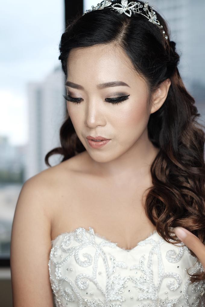 Wedding Makeup for Mrs. Yenny by Mandarin Oriental, Jakarta - 003