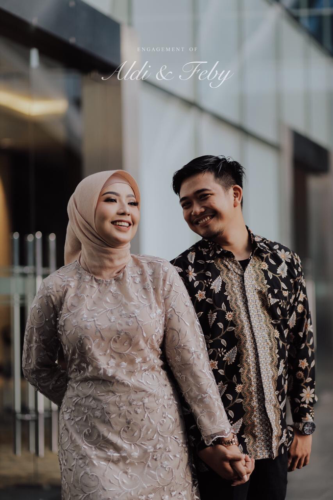 The Engagement of Feby & Aldi by Riani And Friends - 001