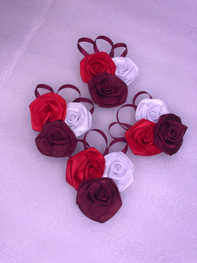 Hand Corsage , groom ,etc by ribbondecoration - 001