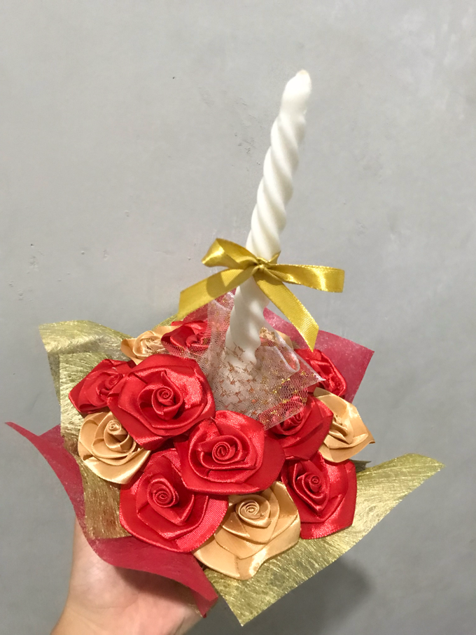 candle decoration - jakarta by ribbondecoration - 011