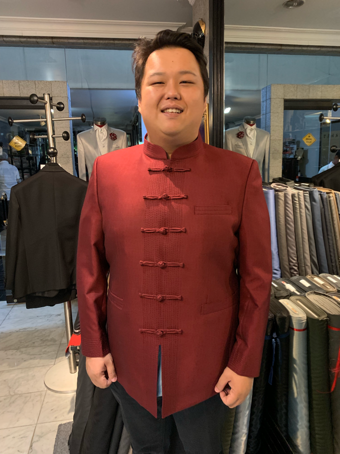 Red Shanghai look by Richard Costume Design - 001