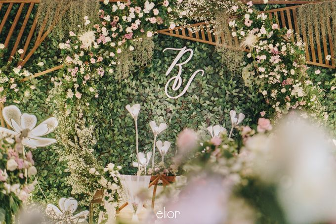 The Wedding of Richard & Stella by Elior Design - 001