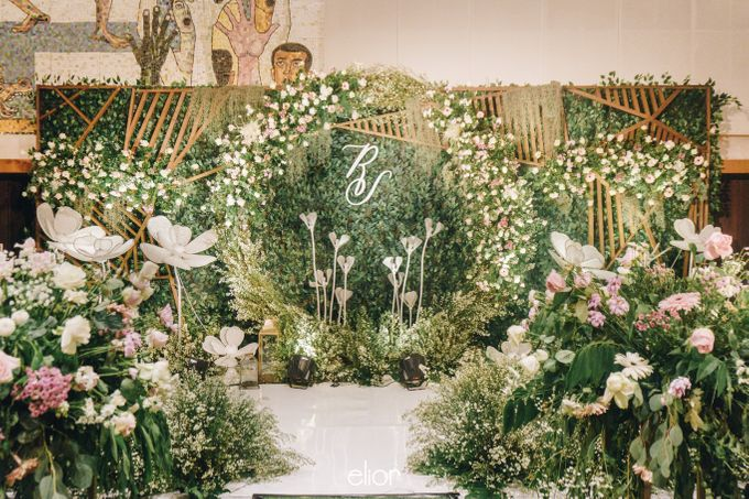 The Wedding of Richard & Stella by Elior Design - 016