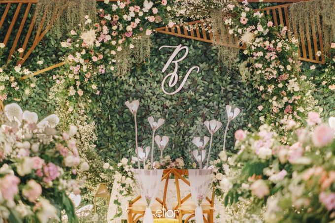 The Wedding of Richard & Stella by Elior Design - 002