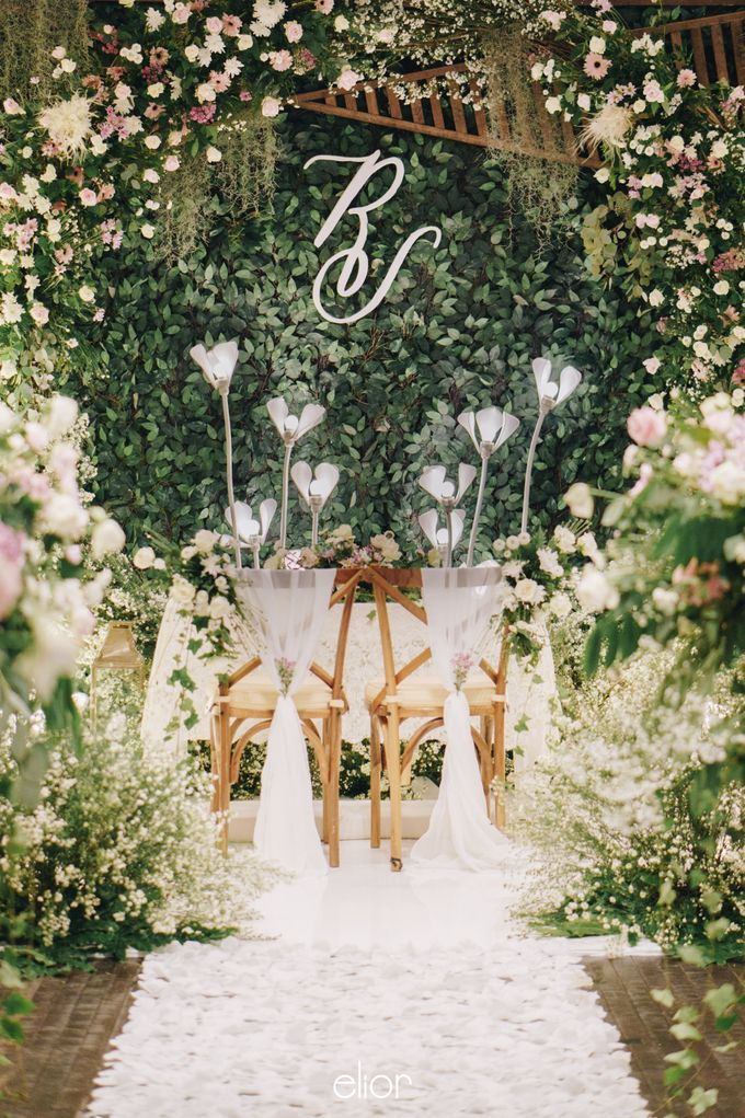 The Wedding of Richard & Stella by Elior Design - 003