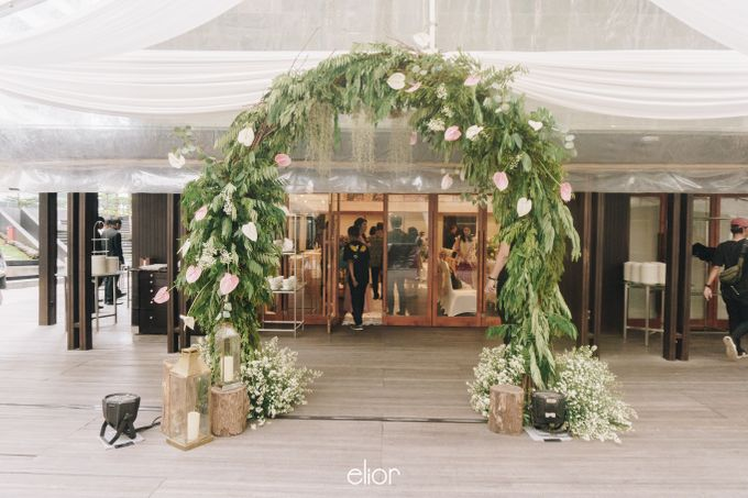 The Wedding of Richard & Stella by Elior Design - 008