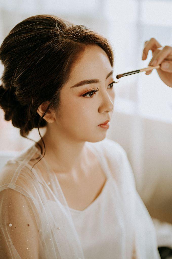 Wedding by CHERIS'H makeup artist - 008