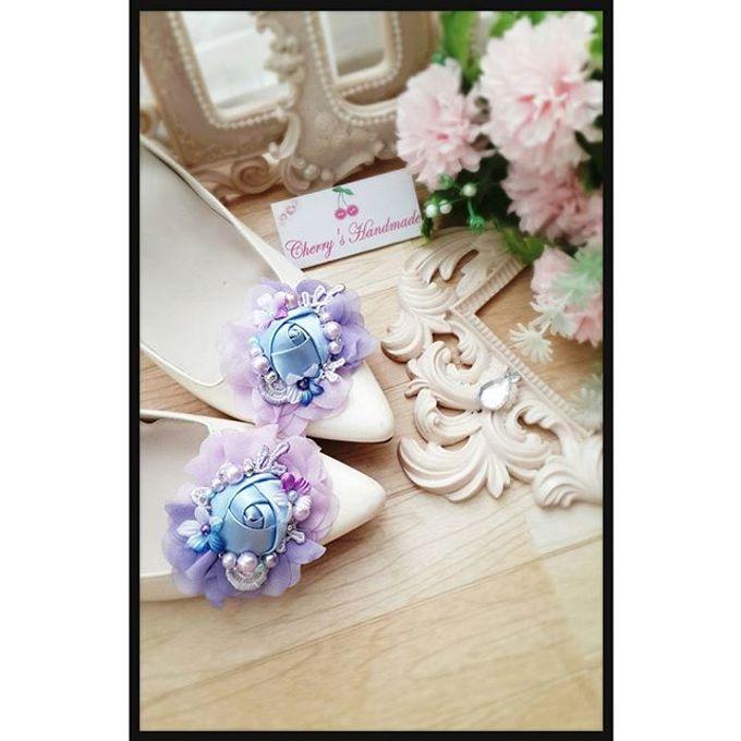 Flowery Shoeclips by Cherry's  Handmade - 008