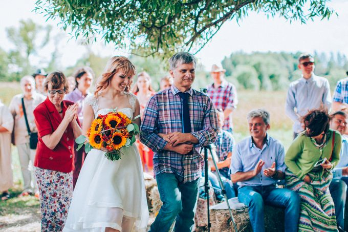 Country  Wedding by Marina Nazarova Photographer - 005
