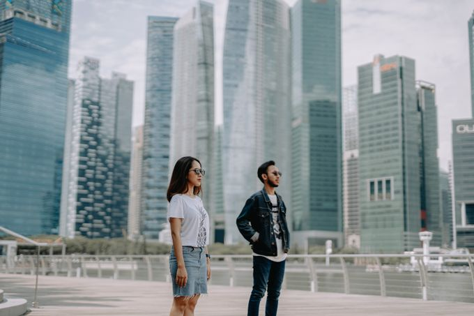Cityscape Prewedding Session Singapore Baghaz & Yesi by Hexa Images - 010